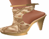 Fiji Gold Ankle Boots