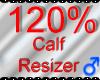 *M* Calf Resizer 120%