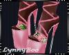 *Troppo Pink Heels