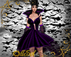 Purple Bat Gown