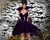 Purple Bat Gown