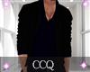 [C] Shirt + Coat-Black