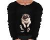 Flat Pug Sweater