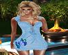 BabyBlue ButterFly Dress