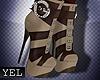 [Y] Berta beige boots
