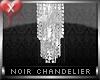 Noir Chandelier