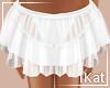 K♡ White Skirt