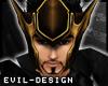 #Evil Loki Gold Helm