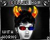 !T Sollux hair + horns