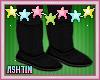 ! KID Black Boots