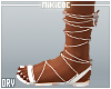 NKC_Tie up sandals White