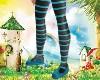 Cheshire Cat Shoe/Tights