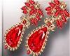 Red Diamon Earrings