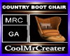 COUNTRY BOOT CHAIR