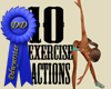 10 exercise actions