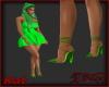 *Kat*Heels,green