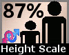 Height Scaler 87% F A
