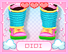 !!D 80s Babygirl Shoes