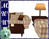 Cabin Sofa Set