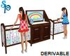 (S) Baby Double Crib Set
