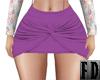 Purple Boho Tied Skirt