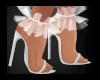 G | Ruffle Shoes White