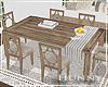 H. Farmhouse Dining Table