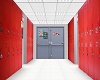 ABA school hallway
