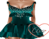 Party Dress Teal