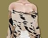 Leopard Trashed Sweater
