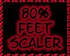 м| 80% Feet Scaler