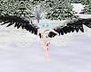 wings black angel