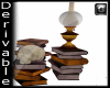 G® Lamp and Books