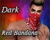 Dark Red Bandana