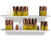 Hair Dye Shelf