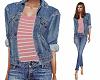 Jacket & jeans Pink T
