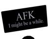 [CrX] AFK Sign