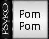 PB Hsn pompom white