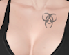 Tattoo Chest BioHaz Grey
