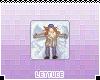 SnowAngel Animated Badge