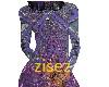 purple glitter bodysuit