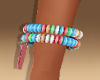 V-Day Candy Bracelet-R