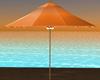 Tropical Orange Umbrella