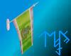 )L( AKA mounted flag