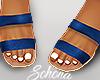 ṩ Brea Sandals Blue