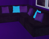 W | Dark Duo Couch