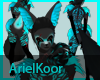 Ata_Fur Black Wolf Skin