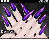 ◇Long Nails Purple