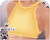 [Pets] Cami v1 | Yellow