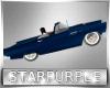 Jumping car blue
